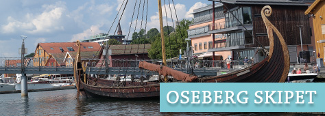 Osebergskipet på Brygga i Tønsberg
